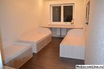 Детская комната для троих детей под ключ на заказ - выполнен.